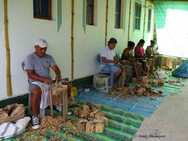 Crafting Palo Santo sticks