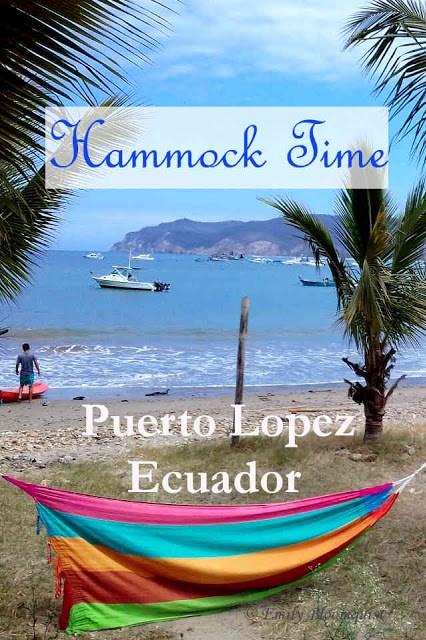 Hammock Time Puerto Lopez, Ecuador