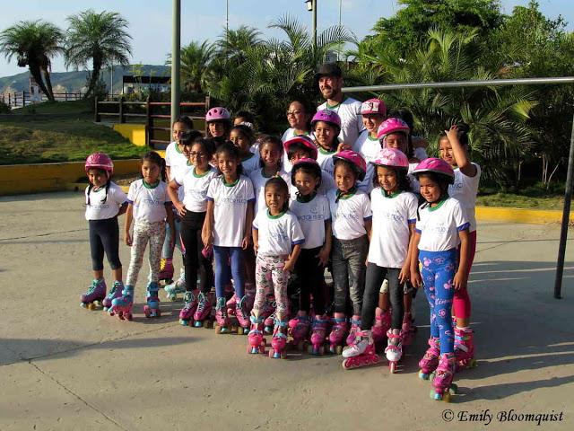Global Roller Day, Puerto Lopez, Ecuador