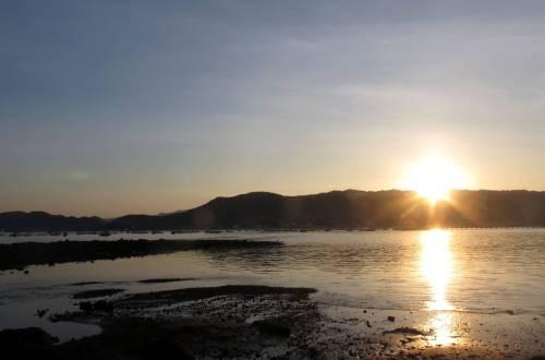 Puerto Lopez, Ecuador sunrise
