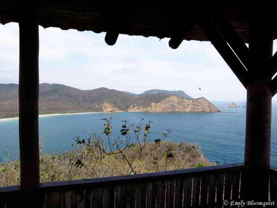 Cliffs at south end of Los Frailes Beach