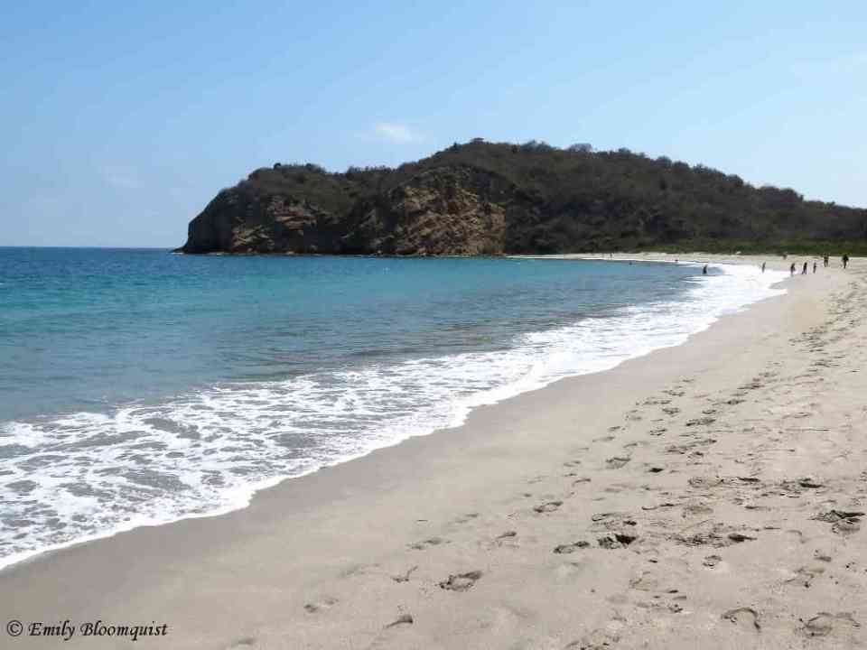 Los Frailes Beach Looking North