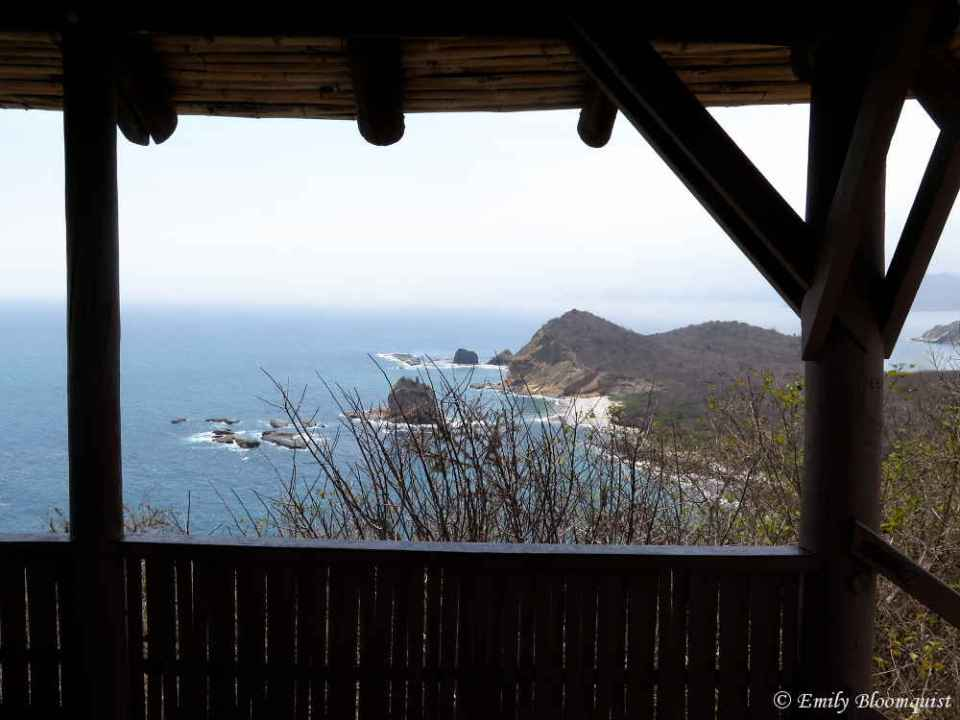 Tortuga Beach from Los Frailes lookout