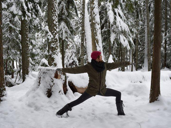 whistler yoga warrior