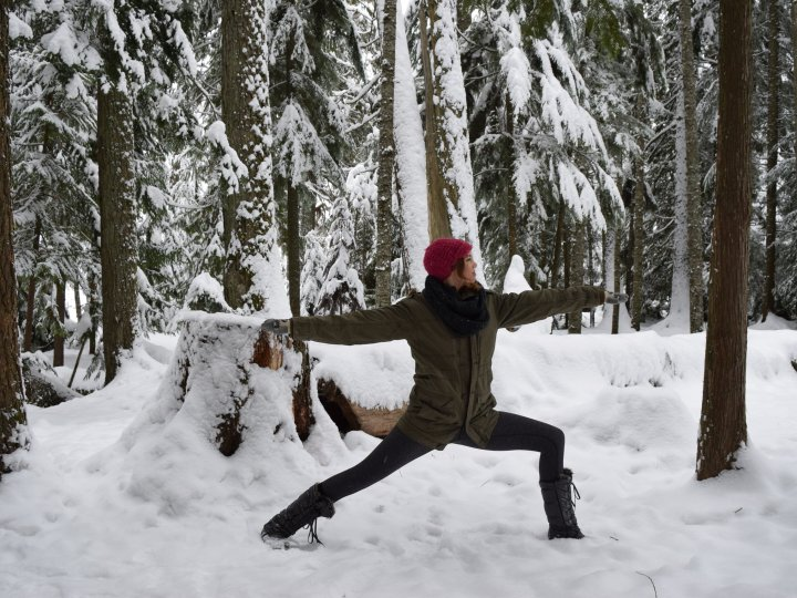 whistler yoga warrior