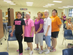 Silver Foxes Kelly Niedergeses, Janet Bradley, Joanne Beckman, Anthionette Beuerlein, & Nan Dan happy to have made the effort!
