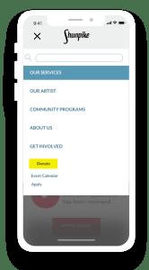 Shunpike redesign mobile navigation on iPhoneX