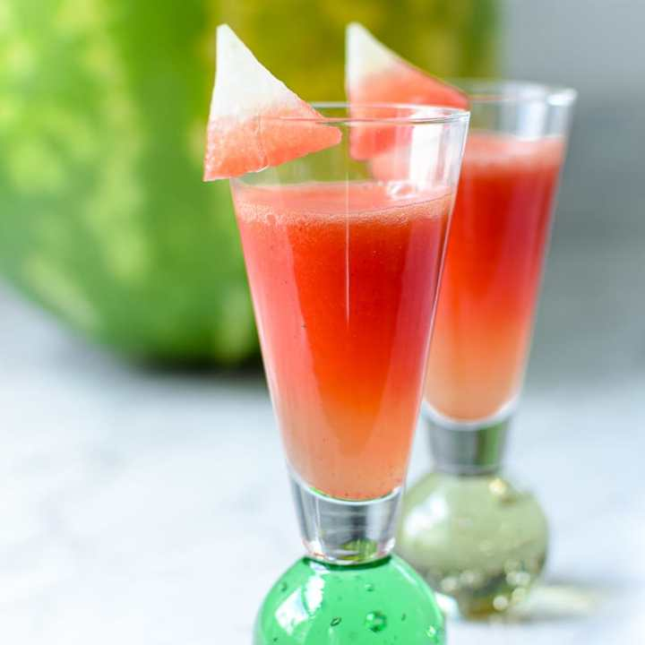 CBD Infused Watermelon Shooter Shots