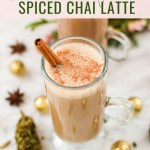 Cannabis-Infused Chai Latte