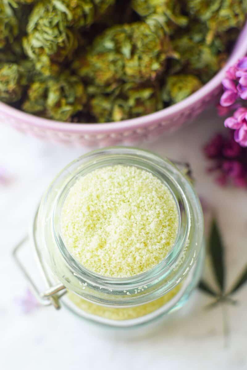 Cannabis Sugar by Emily Kyle Nutrition