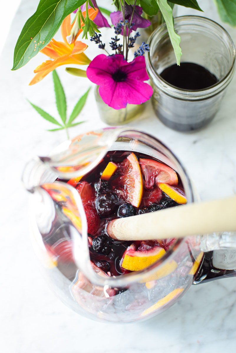 Cannabis Sangria by Emily Kyle11 - Cannabis-Infused Red Wine Sangria