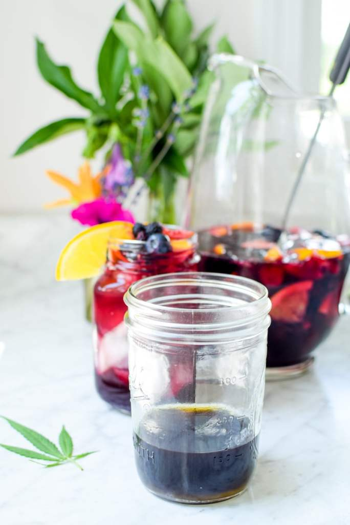 Cannabis Sangria by Emily Kyle23 - Cannabis-Infused Red Wine Sangria