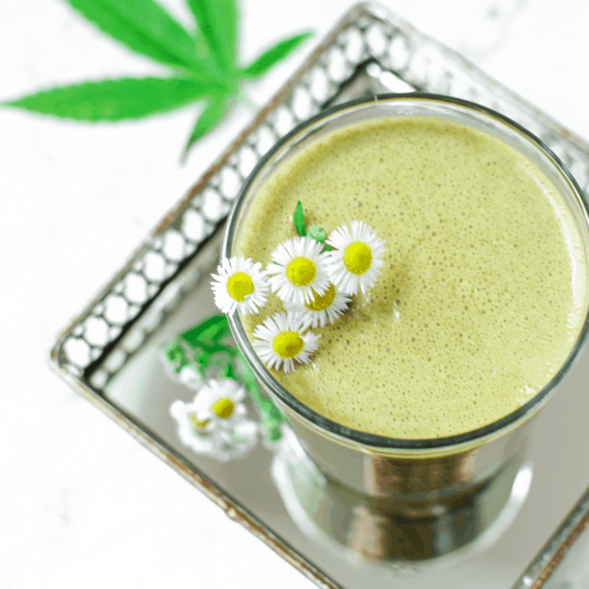 Mint Chocolate CBD Smoothie