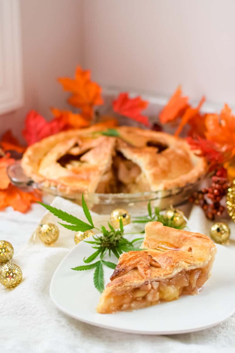 Cannabis Apple Pie by Emily Kyle Nutrition22 - Classic Homemade Cannabis Apple Pie