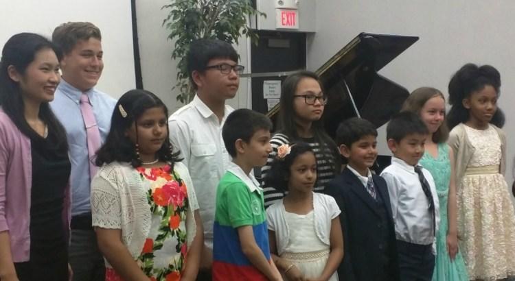 2016 spring piano recital