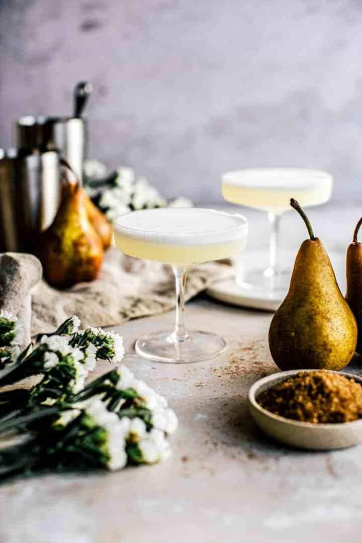 Pear Brandy Sour