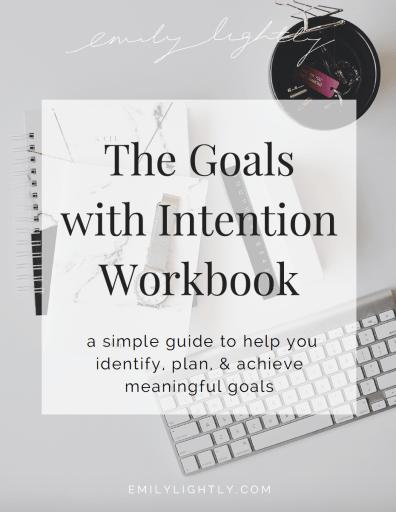 Goals with Intention Workbook