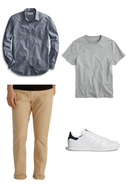 Capsule Wardrobe for Men Outfit Ideas