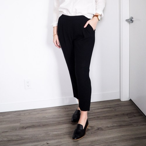 5 Ways to Wear Trousers for the Office - Emily Lightly