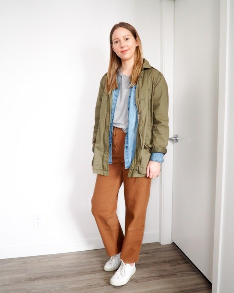 Week in Outfits for 04.08.2019 - Emily Lightly