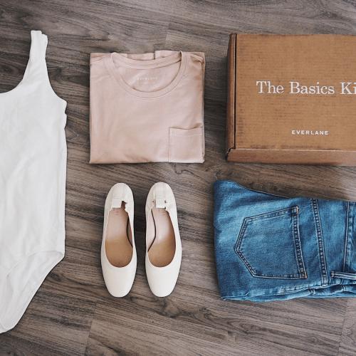 Basic Wardrobe Essentials with Everlane - Emily Lightly