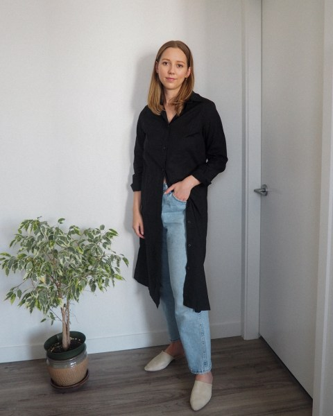 Styling a Shirt Dress 5 Ways featuring Kotn - Emily Lightly