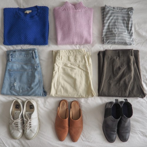 Essential Spring Capsule Wardrobe