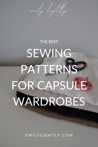 Sewing Patterns for Capsule Wardrobes