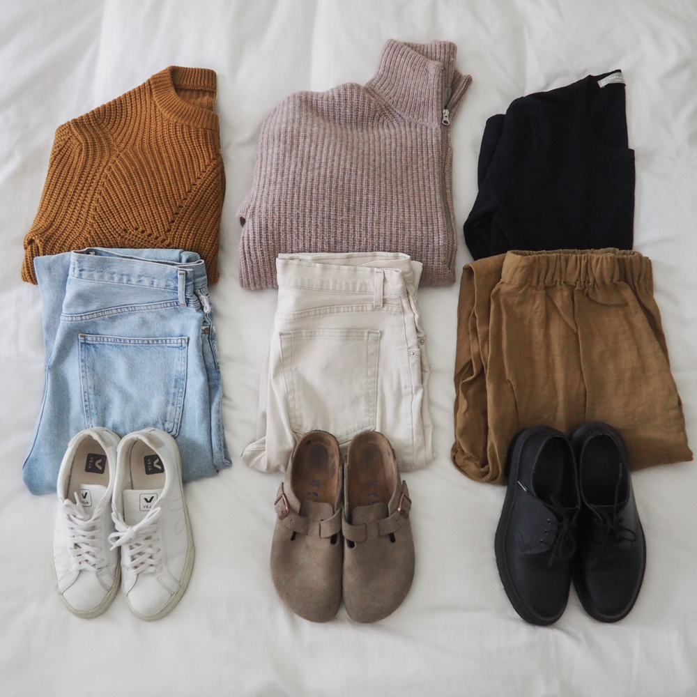 A Sustainable and Me-Made Fall Capsule Wardrobe