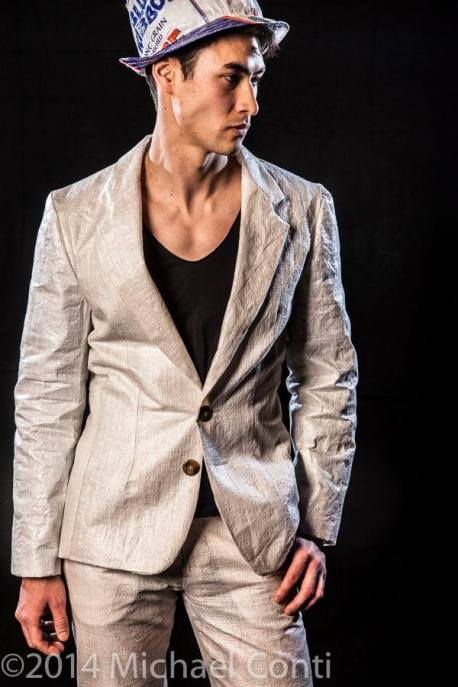 2014 Object Runway IGCA Seed Sack Suit Eric Griffin 1