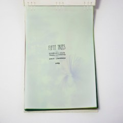 Fifty Trees artist book by Emily Longbrake 02