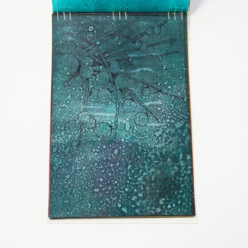 Fifty Trees artist book by Emily Longbrake 21