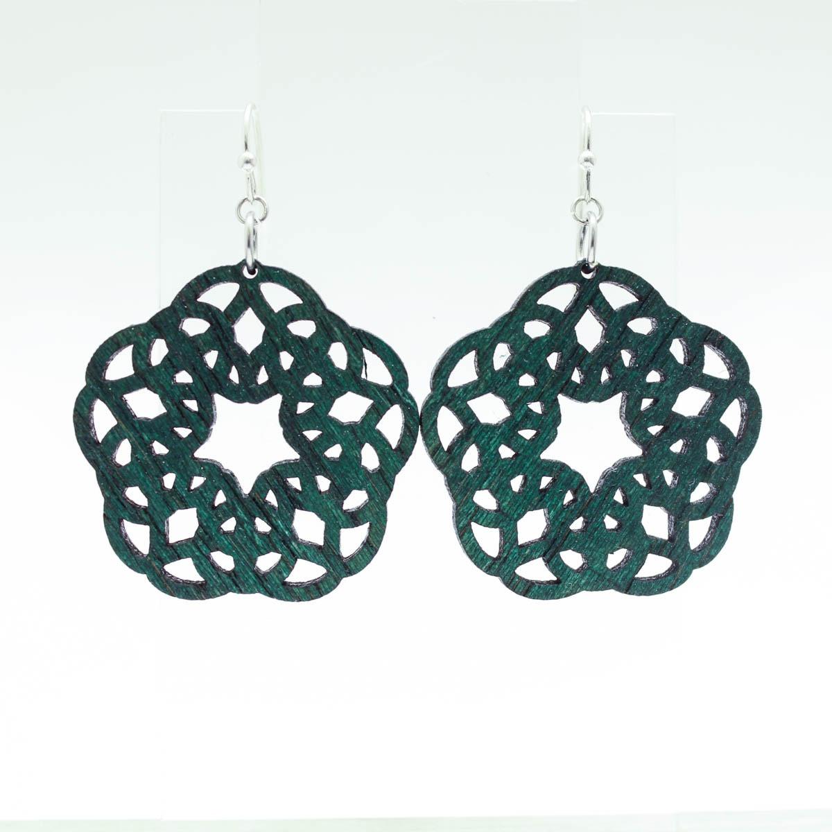 Star Lace Earrings