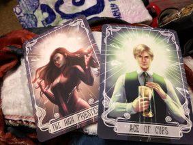 Tarot Cards designed by @loweana.art