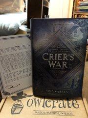 Crier's War by Nina Varela and Letter