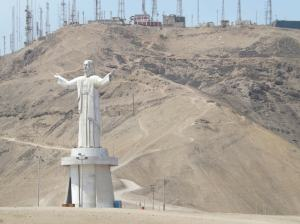 Lima - Christ Statue