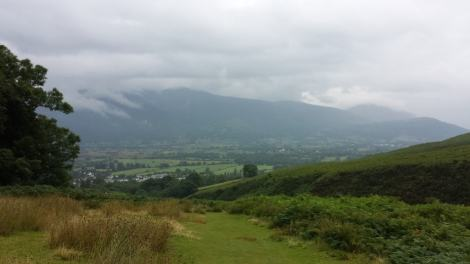 View from Barrow Fell, Lake District