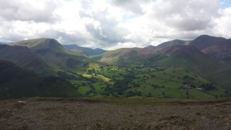 View from Cat Bells, Lake District