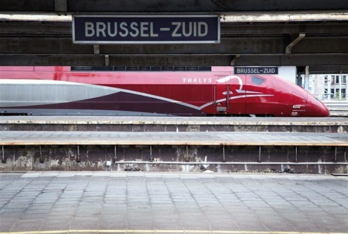 Thalys Train Brussels Station