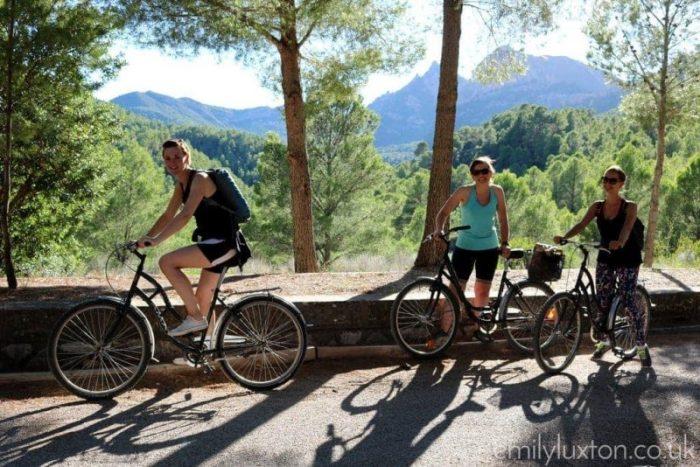 biking in catalunya
