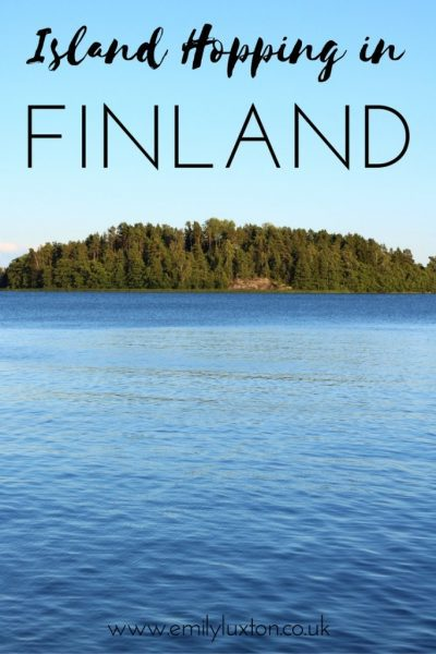 Island Hopping in the Finnish Archipelago