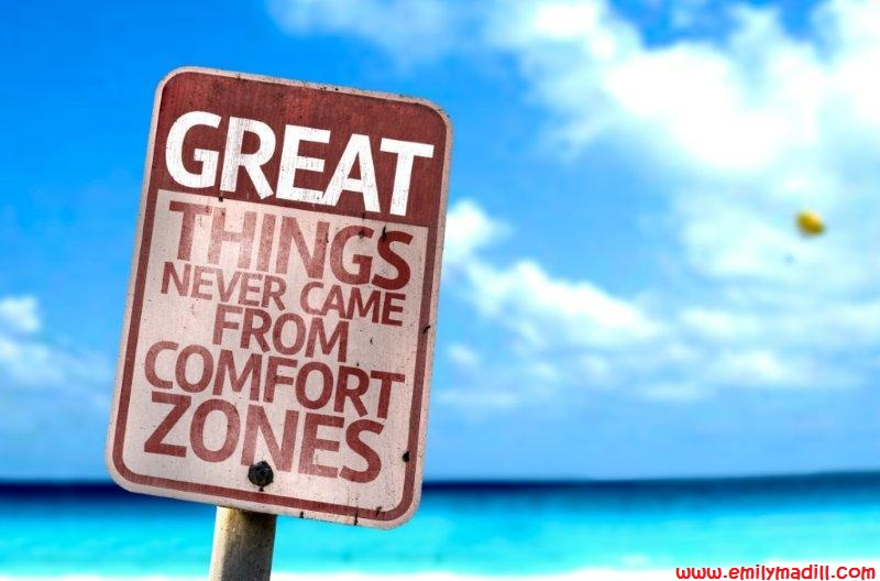 Comfort Zones, Self-Development, Confidence, Self-Worth, Self-Care, Life Coach, Emily Madill