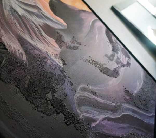 Nature art, nature painting, landscape art