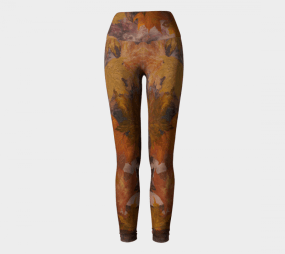 Fall Print, Autumn Print, Fall Leggings