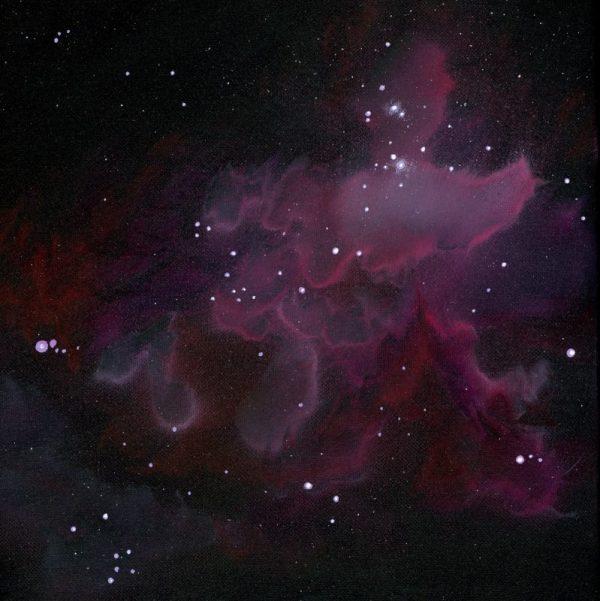 nebula art, space art, galaxy art