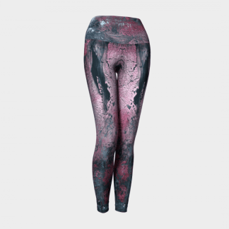 Abstract Leggings, Art Leggings, Athletic Leggings