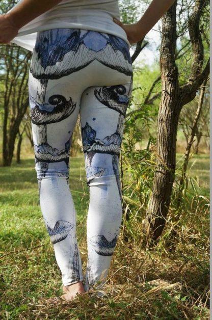 Mushroom Leggings, Art Leggings, Unique Leggings