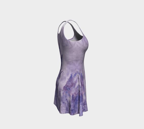 flare dress, stretch dress, skater dress