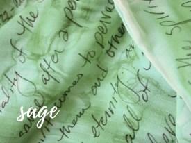 word scarf, book scarf, lyric scarf, infinity scarf