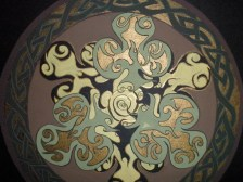 """detail of """"Celtic Round"""""""